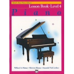Alfred's Basic Piano Library Lesson Book 4 (Alleen in het Engels verschenen)