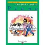 Alfred's Basic Piano Library Duet Book 1B