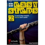 Easy Steps Deel 2 - Klarinet (Boek met CD en DVD)