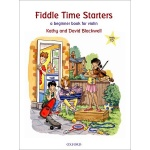 Blackwell - Fiddle Time Starters (Boek met Cd)
