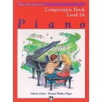 Alfred's Basic Piano Library Composition Book 1A