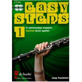Easy Steps Deel 1 Klarinet (Boek met 2 Cd's en 1 DVD)